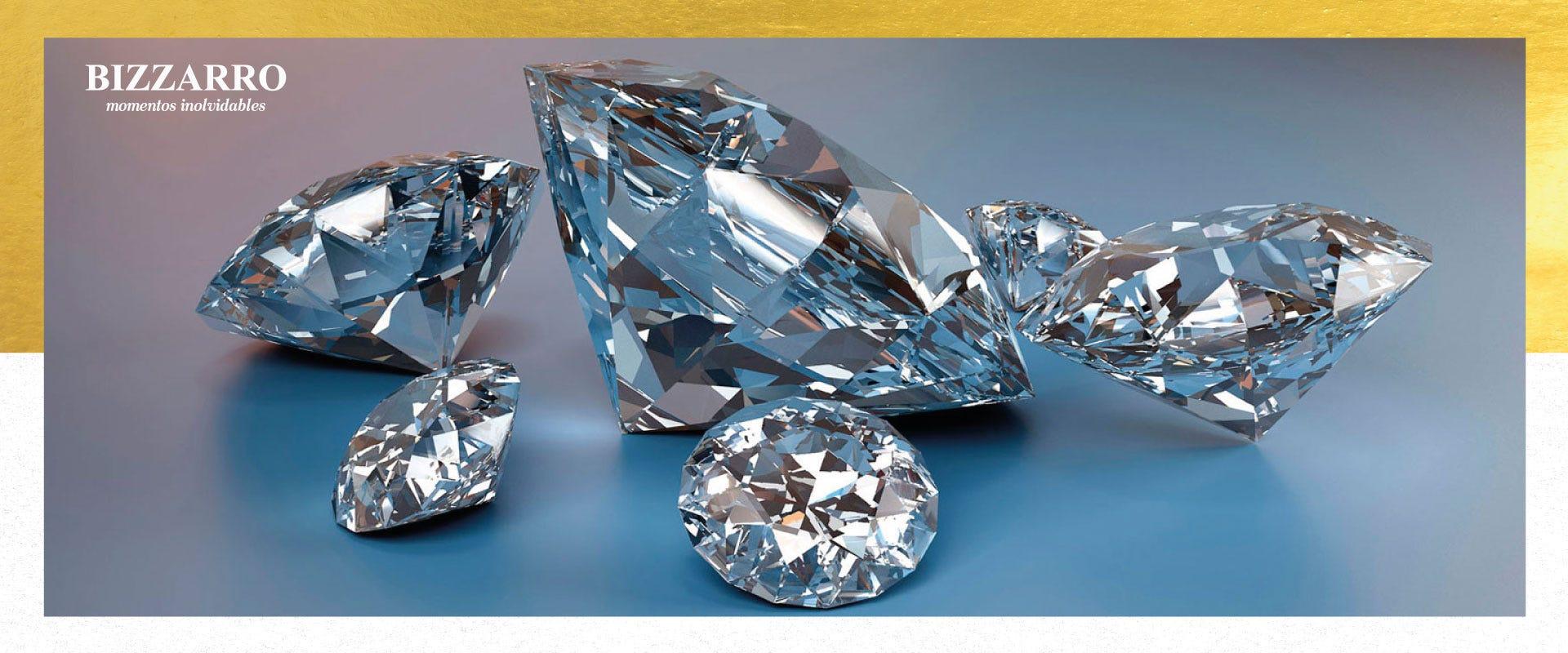 Historia de los diamantes, un viaje de lujo y encanto