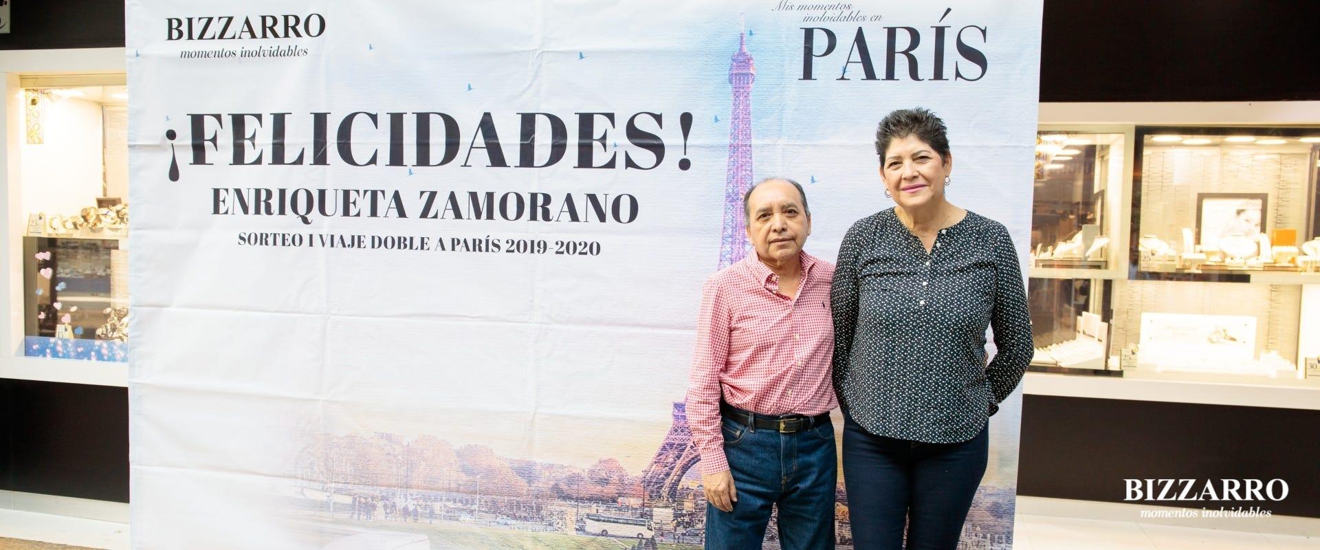 BIZZARRO cumple sueños: ganadora del viaje a París