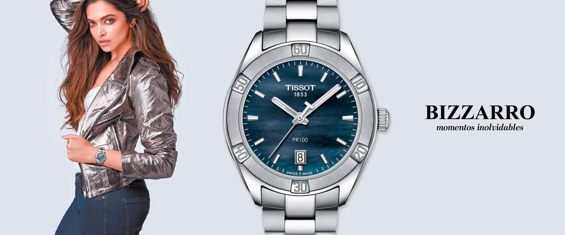 Tissot PR100 Lady Sport–Chic: deportivo y femenino