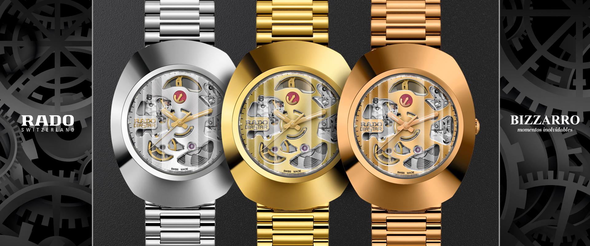 RADO revela relojes con maquinaria que