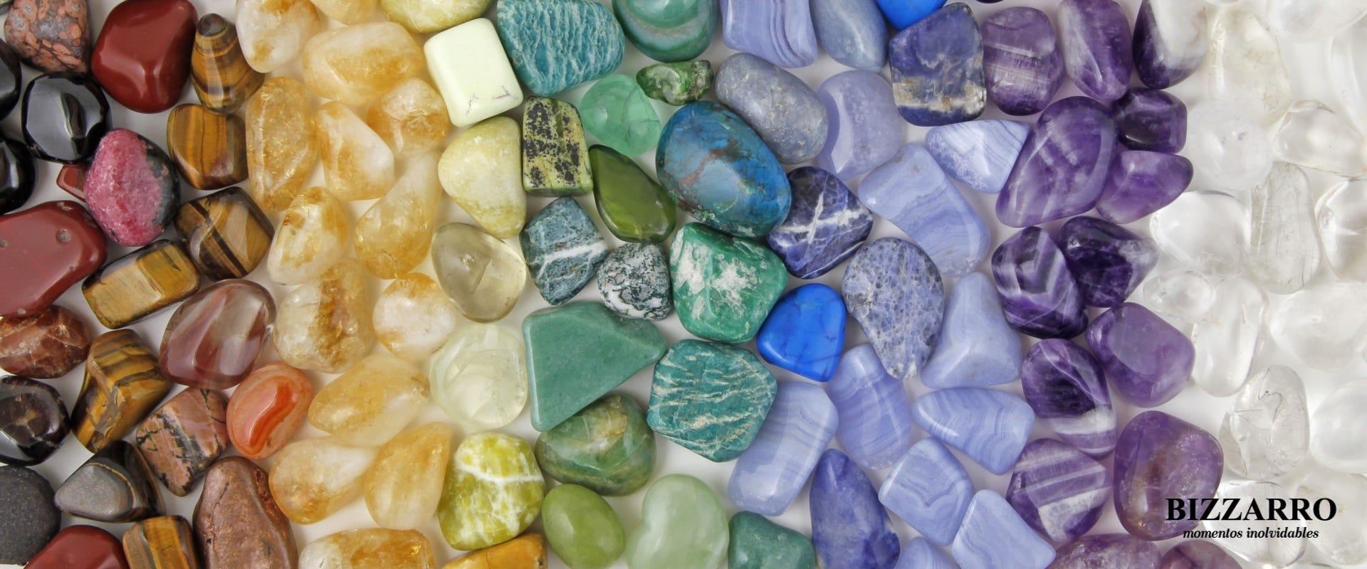 Reveladora verdad entre piedras preciosas y semipreciosas
