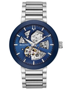 Reloj Bulova Mecanico de Cuerda Automatica Coleccion Modern para Caballero.