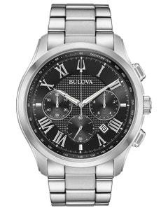 Reloj Bulova Coleccion Clasicos Wilton Nuevo Movimiento Cronografo para Caballero