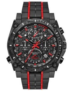 Reloj Bulova Coleccion Precisionist Pvd Negro para Caballero