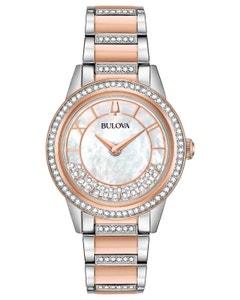 Reloj Bulova Cristales para Dama 143 Cristales Swarovski