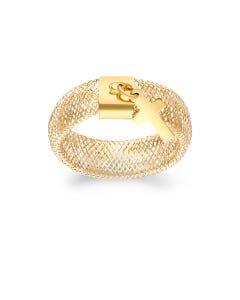 Anillo De Oro Amarillo 14K