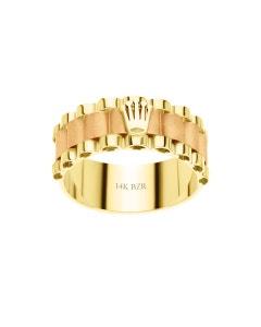 Anillo de Oro Amarillo 14K-11.5