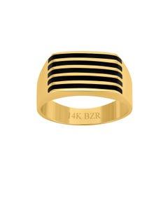 Anillo de Oro Amarillo 14K para Caballero
