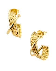 Arracadas de Oro Amarillo 14K