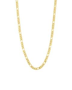 Cadena Cartier (3X1) Mediana de Oro Amarillo 60 cm