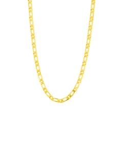 Cadena Cartier (1x1) Mediana de Oro Amarillo 14K 60cm