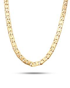 Cadena Imperial Mediana De Oro Amarillo 60Cm