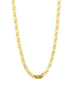 Cadena Italiana Mediana de Oro Amarillo 60 cm