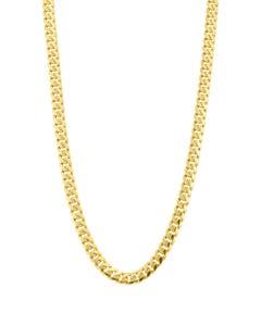Cadena Almendra de Oro Amarillo 14K 60cm