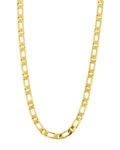 Cadena Cartier (1x1) de Oro Amarillo 14K 60cm