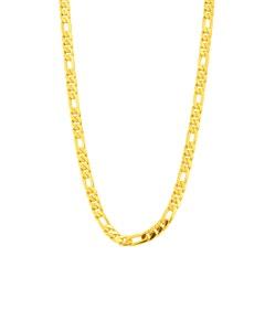 Cadena Cartier (3X1) de Oro Amarillo 60 cm