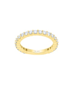 Churumbela de Oro Amarillo 14K con 56 Pts de Diamante