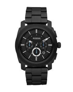 Reloj Fossil Machine Chronograph Black Stainless Steel para Caballero