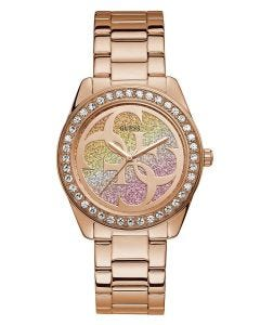 Reloj Guess G Twist para Dama Oro Rosa/Multi Color