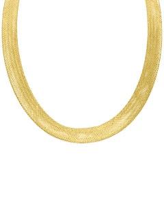 Gargantilla De Oro Amarillo 14k