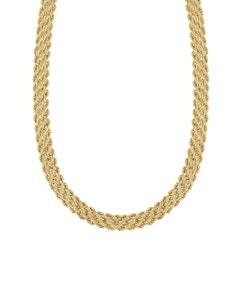 Gargantilla de Oro Amarillo 43 Cm