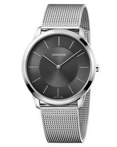 Reloj Calvin Klein Minimal Xl Brazalete Mesh Unisex