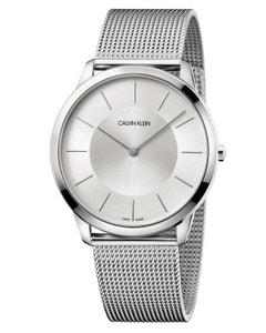 Reloj Calvin Klein Minimal Brazalete Mesh Xl Unisex