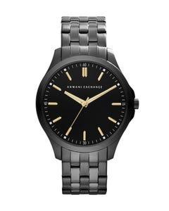 Reloj Armani Exchange Stainless Steel Blackpara Caballero