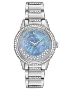 Reloj Bulova Cristales Swarovski para Dama