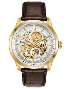 Reloj Bulova Mecánico de Cuerda Automática Colección Stutton para Caballero