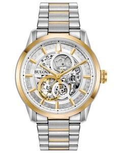 Reloj Bulova MecáNico de Cuerda Automatica Colección Stutton para Caballero