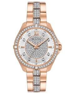 Reloj Bulova Cristales para Dama