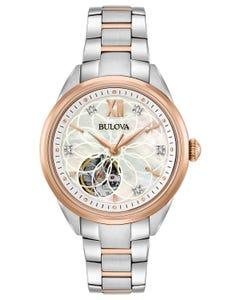 Reloj Bulova con Diamantes para Dama