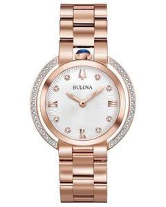 Reloj Bulova Rubaiyat para Dama con Diamantes