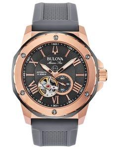 Reloj Bulova Mecánico de Cuerda Automática Colección Marine Star para Caballero