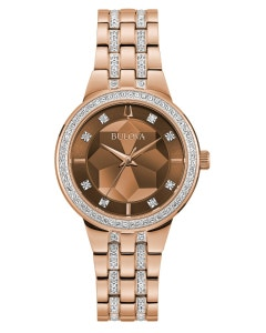 Reloj Bulova Phantom para Dama con Cristales.