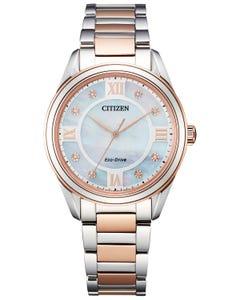 Reloj Citizen Arezzo Diamond para Dama
