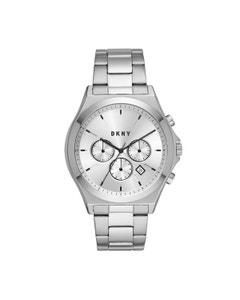 Reloj Dkny para Caballero Extensible Acero Plata Caratula Plata Analogo