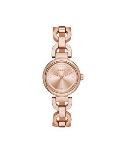 Reloj Dkny para Dama Extensible Acero Oro Rosado Caratula Oro Rosado Analogo