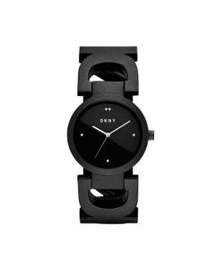 Reloj Dkny para Dama Extensible Acero Negro Caratula Negro Analogo