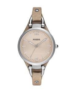 Reloj Fossil Georgia Bone para Dama