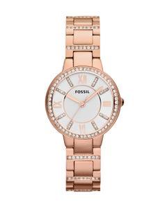 Reloj Fossil Virginia Rose-Tone Stainless para Dama