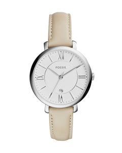Reloj Fossil Jacqueline White Leather para Dama