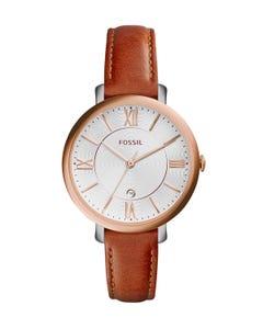 Reloj Fossil Jacqueline Cedar Leather para Dama