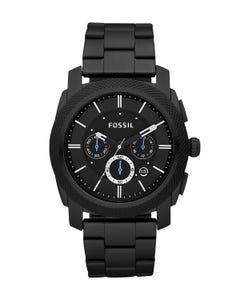 Reloj Fossil Machine Chronograph Black Stainless Steel para Caballero