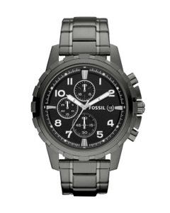Reloj Fossil Dean Chronograph Smoke Stainless Steel para Caballero