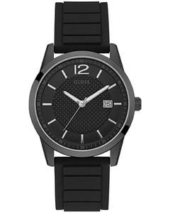Reloj Guess Perry Negro con Bisel Negro para Caballero