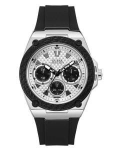 Reloj Guess Legacy para Caballero Negro/Plata
