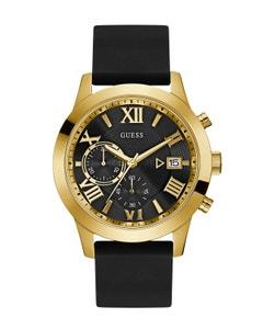 Reloj Guess Atlas para Caballero Negro/Oro