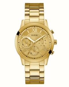 Reloj Guess para Dama Solar Dorado